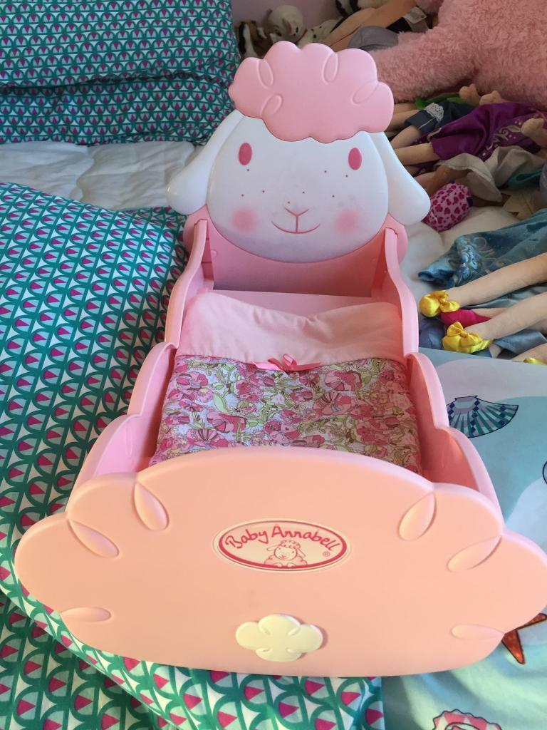 Baby Annabelle rocking bed
