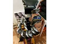 Full Set of Clubs with Bag