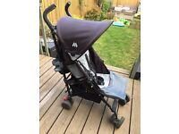 Maclaren Quest Stroller / Buggy (With Footmuffs, Rain Cover & Snoozeshade)