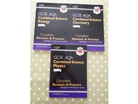 GCSE Revision Guides for Biology Chemistry & Physics VGC - cash on collection from Gosport Hampshire