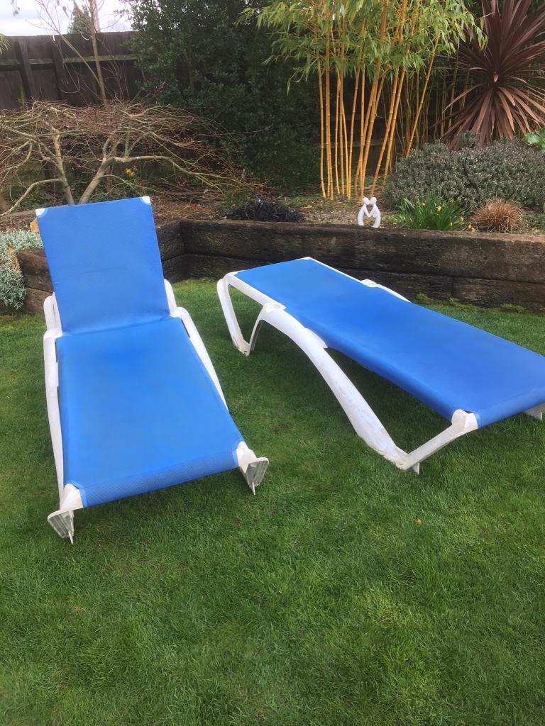 Spanish Sun Loungers In Stotfold