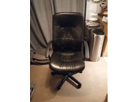 Ikea leather office chair