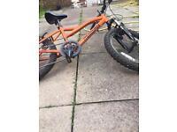 Muddy fox boys bike