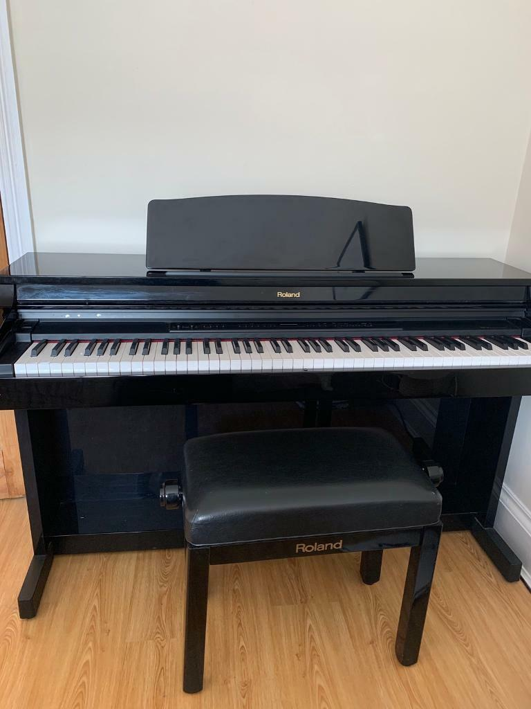 Roland Digital Piano with matching height adjustable stool | in Caversham,  Berkshire | Gumtree