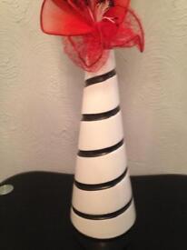 Flower an vase