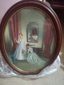 Large oval pictute (ladies)
