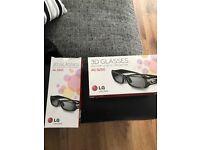 3D glasses lg tv
