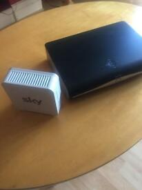 SKY ROUTER AND SKY + HD BOX