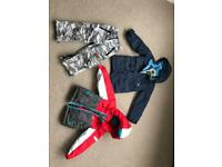 Age3 ski jackets (x2) & salopettes (£10 for all 3 items or £5 per Item)