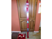 Is it going to snow? Pair of cheap Fischer Drifter Cut Special Skis and Tyrolia 260 bindings