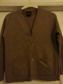 Light brown cashmere jumper