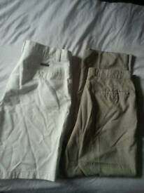 Mens trouser and shorts size38 waist