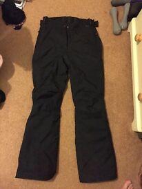 Ski trousers ladies size 10
