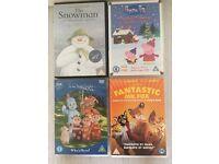 Kids DVD's (Peppa Pig, Snowman etc)
