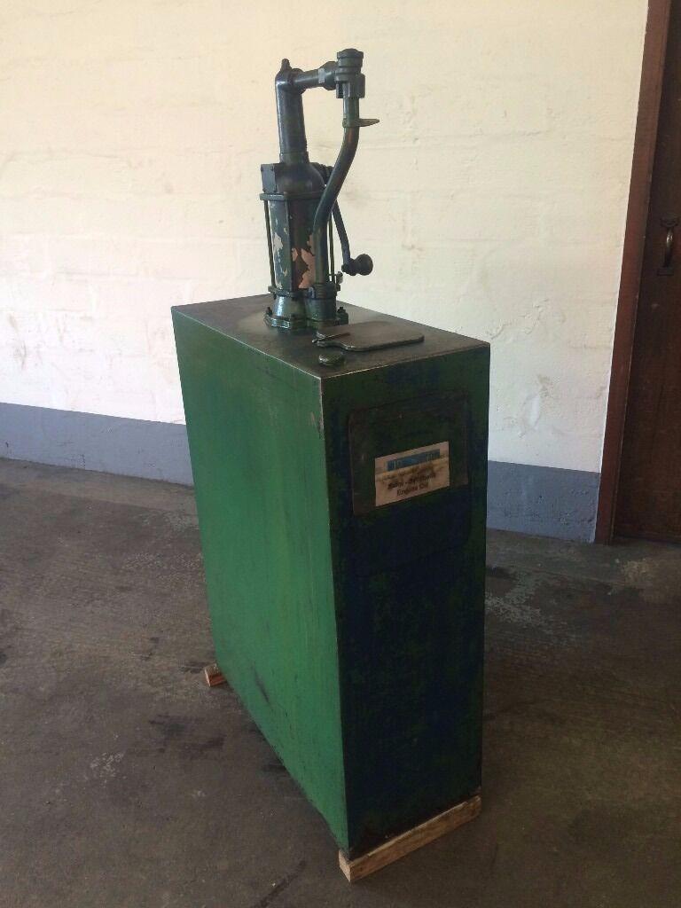 Duckhams Vintage Oil Tank With Pump In Banff