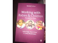 Working with Babies and Children from Birth to Three Textbook