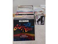 Vinyl Record Collection - 83 LPs, 80 Singles, 3 EPs. A total of 166 records in very good condition