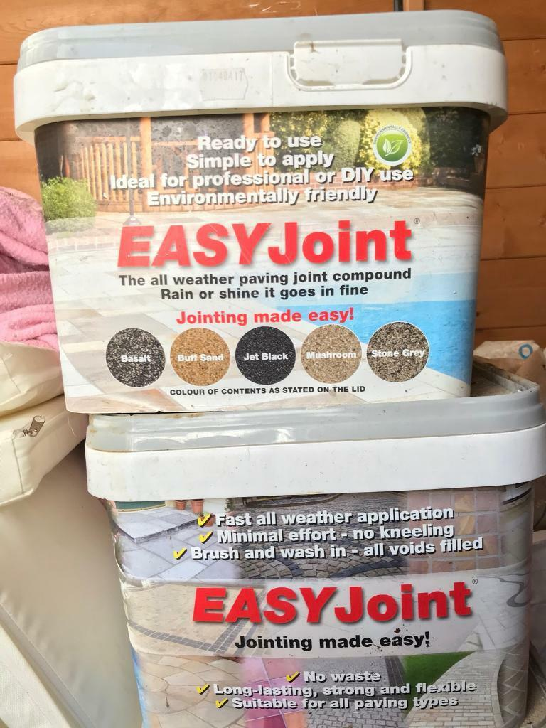 Easy Joint Paving Jointing Compound Stone Grey