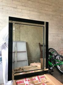 Wall mount mirror