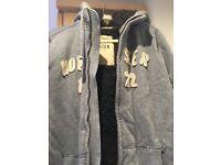 Men's jacket Hollister Medium (fits large) fur jacket/hoodie