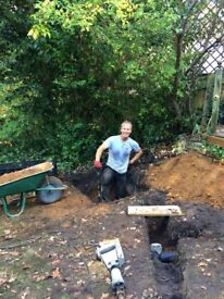 Cheerful Chap likes to dig (and other manual labour)