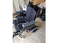 Tango Quickie Electric Wheelchair used twice