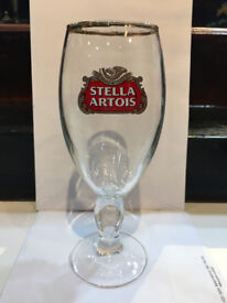 Stella Artois half pint glass