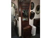 Delightful Victorian Style Carved Hardwood Hall Stand