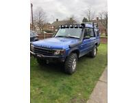 Land Rover discovery td5 face lift 2003 off road green lane