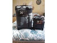 Matching Charcoal Suitcases - BRAND NEW - With Labels -IDEAL CHRISTMAS PRESENT