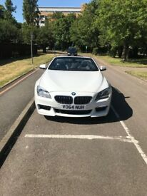 BMW 6 Series 640D M Sport 3.0 2dr Automatic Convertible White