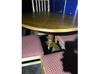 Dining table and 4 chairs FREE DELIVERY PLYMOUTH AREA