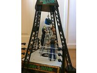 WWE Money in the bank tower and 3 figures