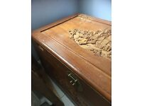 Vintage Chinese Trunk for sale - bought in Hong Kong 1984