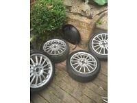 "MG Xpower 17"" alloys 4x100 £100 Ono"