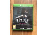 thief , xbox one , as new ! price stands , no offers !