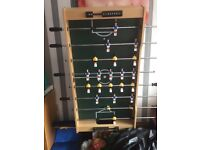 Table football fold away