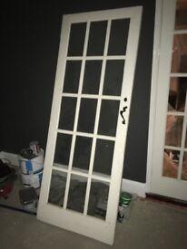 15 panel glass internal door