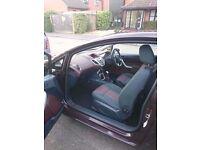 Ford Fiesta 1.4 TDCI Zetec hatchback 3 door diesel manual red cherry, focus mondeo alloy wheels