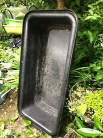 Plasterers bath. Dog bath used