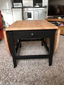 Dark Wood Ikea Expanding/Folding Coffee Table