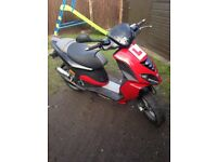 Piaggio nrg 2009 12 month mot not 125 scooter moped