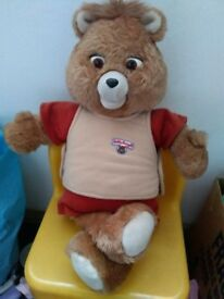 Teddy Ruxpin - COMES WITH OWN BOOK AND TAPE,FREE P/P UK ONLY