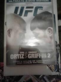 UFC DVDS