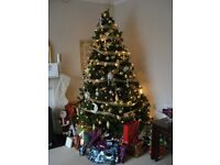 Artificial 7ft Christmas Tree