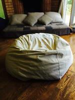 Big, comfy bean bag