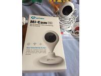 Video camera / baby monitor