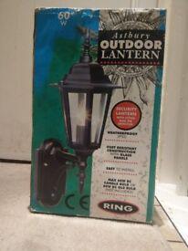 Outdoor Lantern (Brand New) with PIR Motion sensor