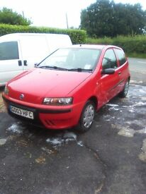 punto spares or repairs. history, cambelt changed, hpi clear