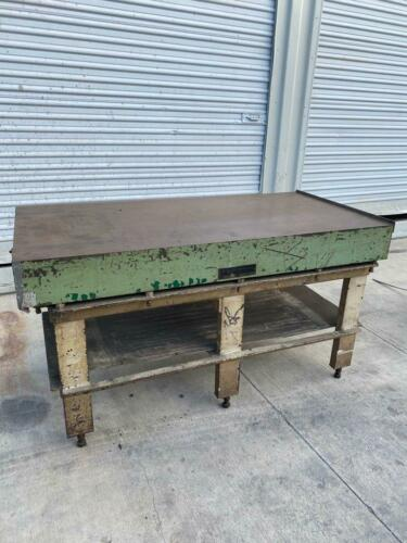 """60"""" x 30"""" x 6"""" CHALLANGE MACHINERY STEEL LAYOUT TABLE / SURFACE PLATE"""